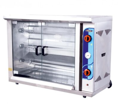 Countertop vertical chicken grill machines