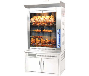 Casted chicken grill machines