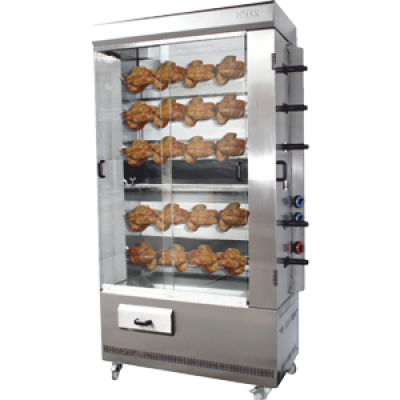 Chicken grill machines with handle